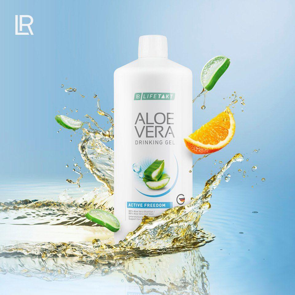 LR LIFETAKT ALOE VERA DRINKING GEL ACTIVE FREEDOM Aloesowy Żel do Picia