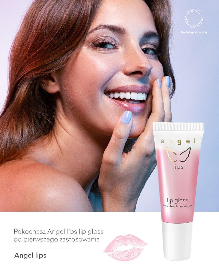 Colway International Angel Lips Lip Gloss Błyszczyk do Ust Linia Pielęgnacja Specjalna