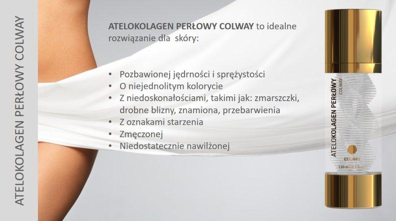 Atelokolagen Perłowy Colway Linia Atelo Kolagen