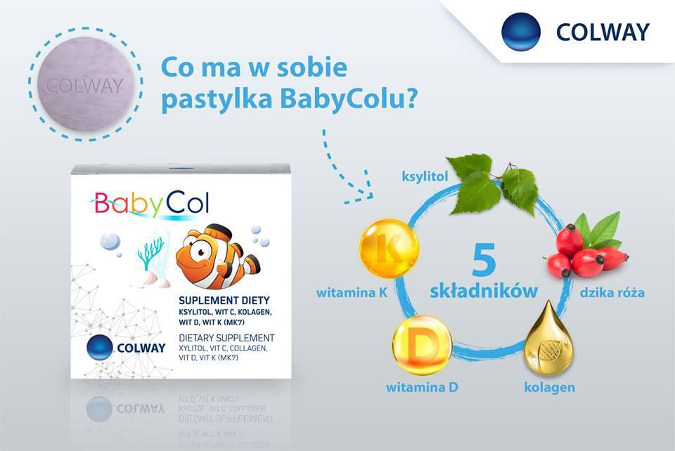 BabyCol Colway Kolagen Witamina C dla Dzieci