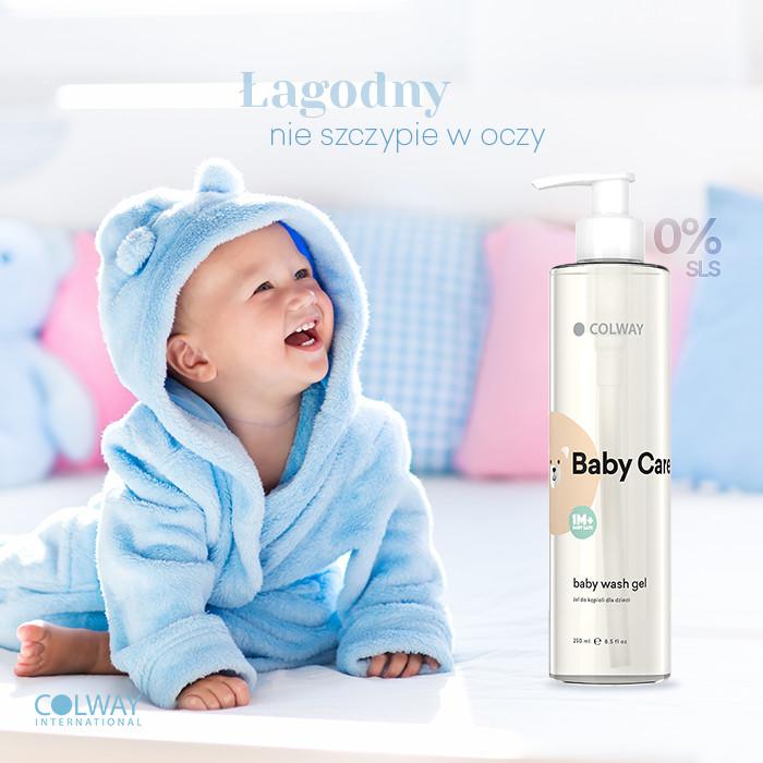 Colway International Baby Care Gel Żel do Kąpieli dla Dzieci