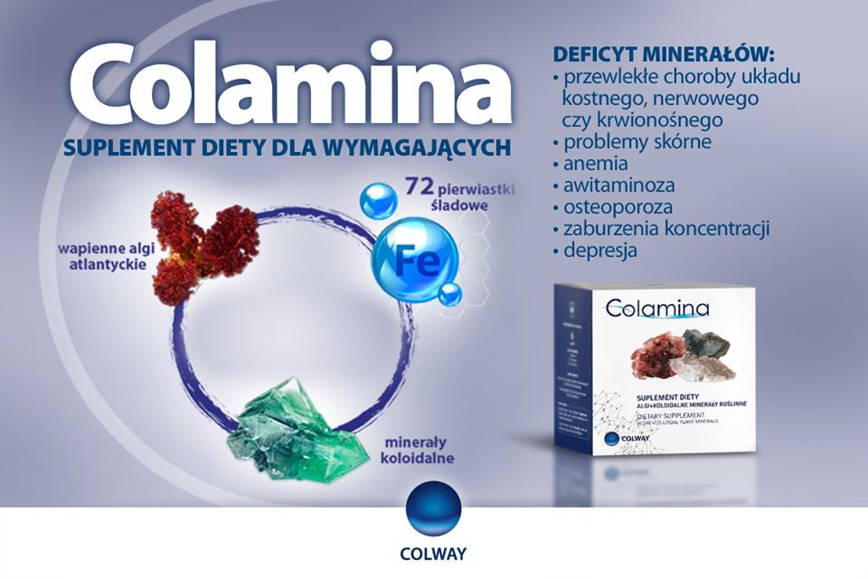 Colway Colamina Algi Morskie Koloidalne Minerały