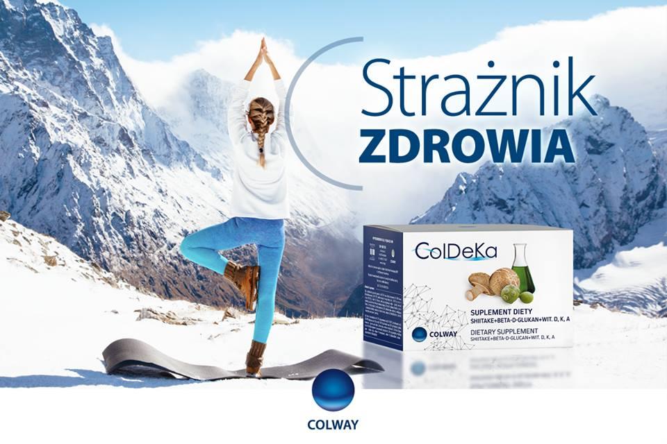 Colway Coldeka Grzyby Shiitake Beta-D-Glukan