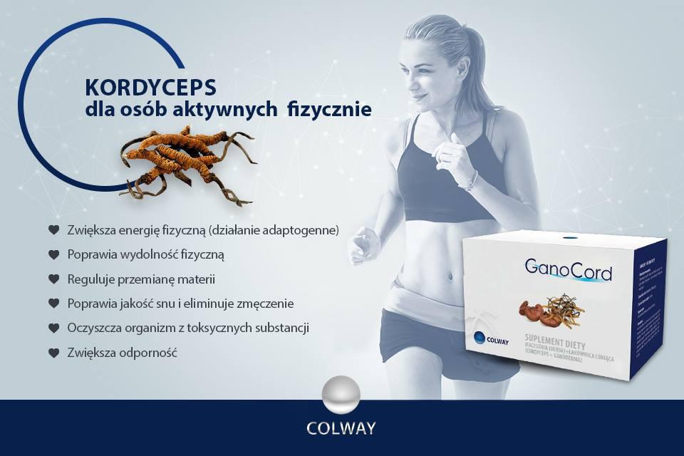 Colway GanoCord Kordyceps Ganoderma Reishi