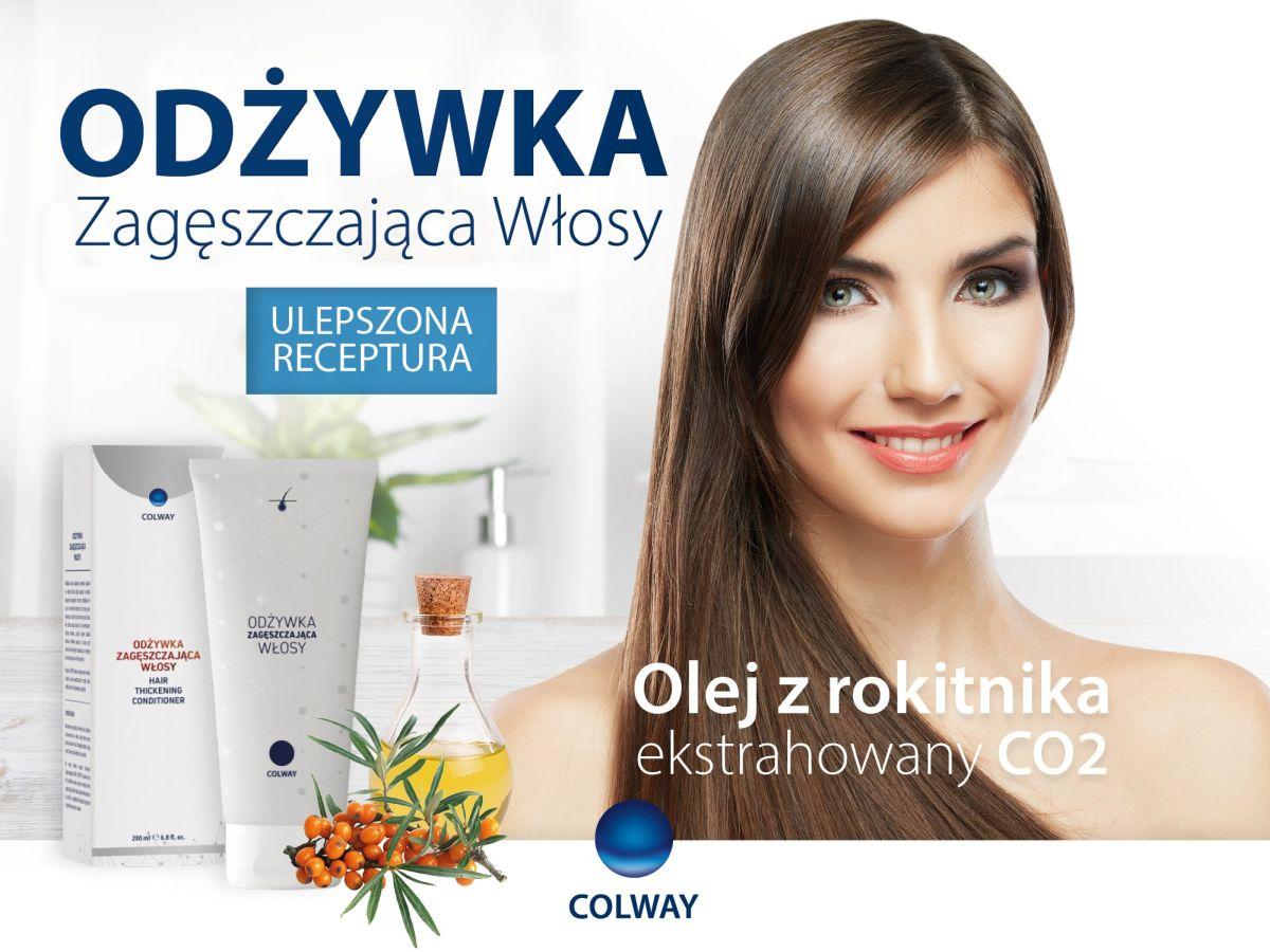 Odżywka Zagęsczająca Włosy dr Słonia COLWAY