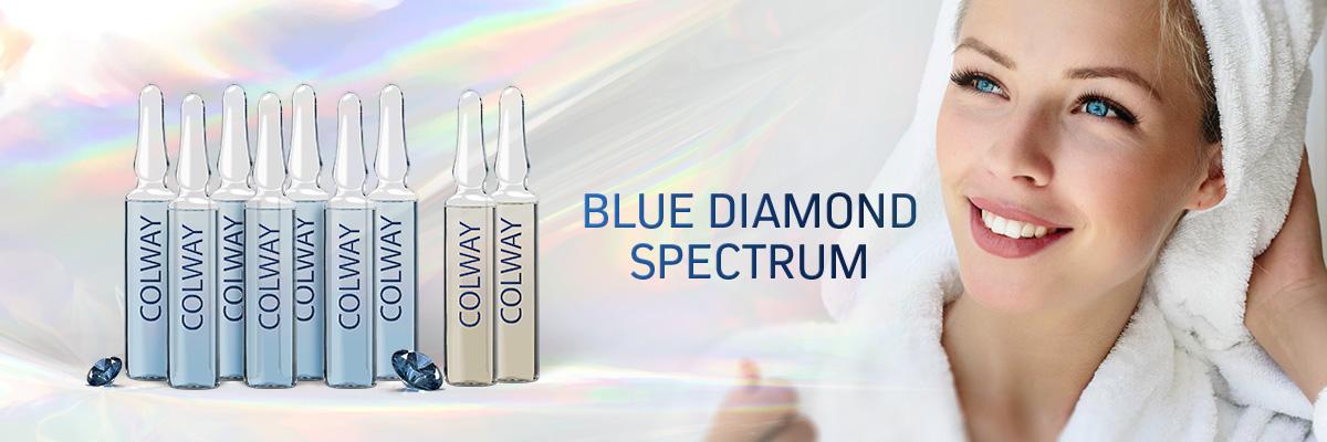 Ampułki Blue Diamond Spectrum Colway Linia Diamentowa