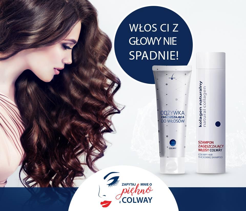 Szampon Zagęszczający Włosy COLWAY z diosminą