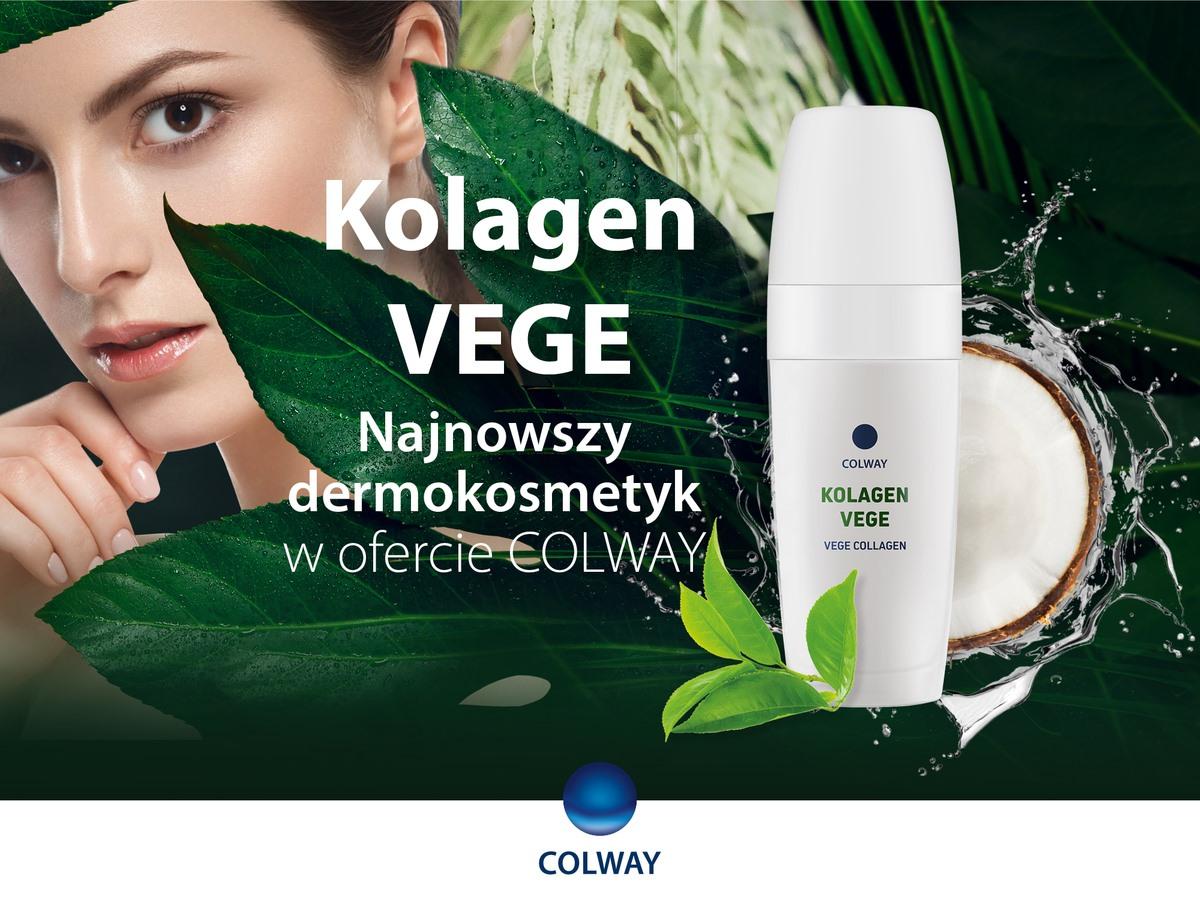 Kolagen Vege Colway roślinny dla wegan Plant Collagen Vegan