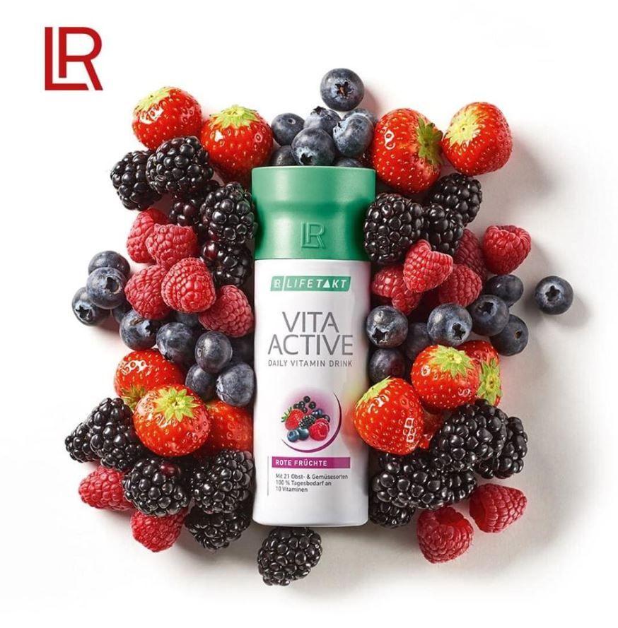 LR LIFETAKT Vita Active Witaminy z owoców i warzyw