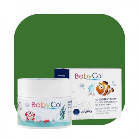 BabyCol Colway Kolagen Witamina C D K dla Dzieci