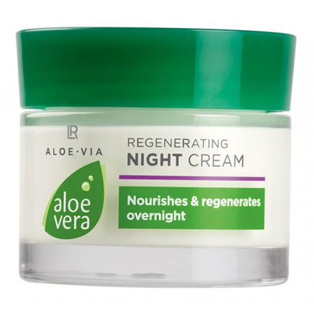 LR Beauty Aloe Via Vera Regenerujący Krem na Noc Aloes