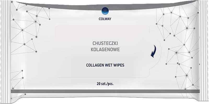 Chusteczki Kolagenowe COLWAY