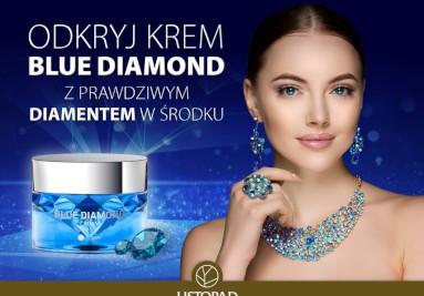 Krem Niebieski Diament Colway